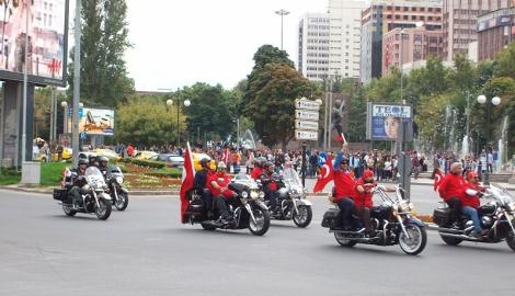 Байкеры в Анкаре