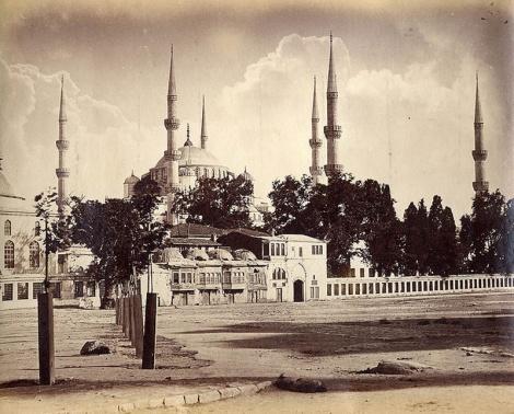 Константинополь XIX века - фотограф Абдуллах Бирадерлер