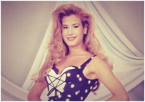 Ahu Paşakay, модель, победительница конкурса красоты 1995