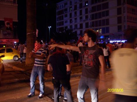 Гези протесты, Измир,2013