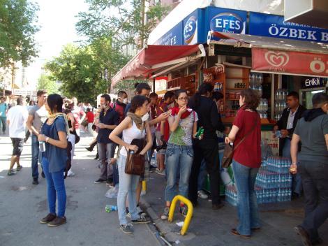 Гези протесты, Анкара, 2013
