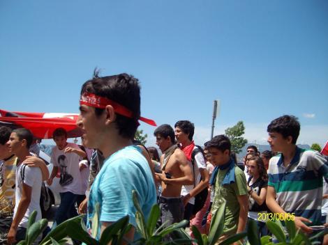 Гези протесты в Измире, июнь 2013