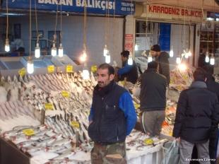 Рыбный базар в Анкаре (Sakarya Cad.)