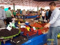Базар в Анкаре (Çayyolu Pazarı)