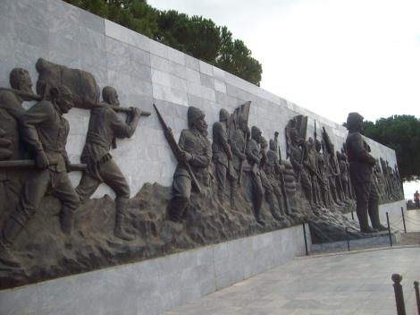 Галлиполийская битва, пролив Дарданеллы