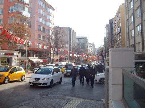 Улица Tunalı Hilmi Cad