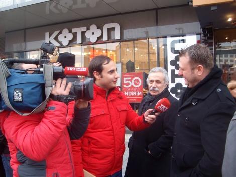 Интервью госканала ТВ ТРТ