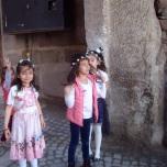 Дети пели песню, посвящунную славе Республики