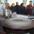 Изготовление лапши для десерта Кюнефе