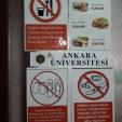 Даются правила, как нельзя заходить в столовую