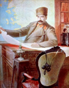 "Авни Лифиж ""Портрет маршала Февзи Чакмак"", 1922"