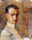 """Намик Исмаил """"Автопортрет"""", 1917"""