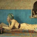 """Осман Хамди Бей """"Читающий эмир"""""""