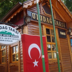 Чувствуется близость зимнего курорта Улудаг
